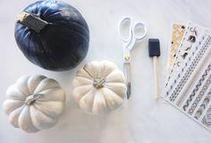 No Carve Pumpkin DIY – L*Space Diy Pumpkin, Pumpkin Carving, Trendy Halloween, Space, Blog, Floor Space, Pumpkin Carvings, Blogging, Spaces