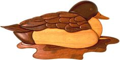 Duck Pattern Intarsia Woodworking When an individual want to learn about woodworking techniques, try http://www.woodesigner.net