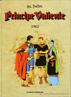 El Príncipe Valiente Año 1962 Editorial Planeta