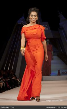 lala anthony - mercedes-benz-fashion-week-fall-2012