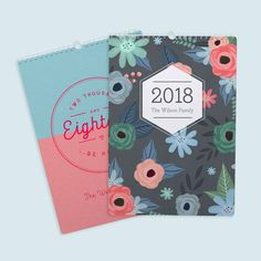 Personalised calendars can be any colours you want, with any ...