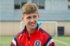 Ryan Gauld is eager to progress to the A team   Photograph: SNS