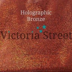 "Jet Charcoal Victoria Street Glitter Fine 0.008/"" // 0.2mm Holographic Black"