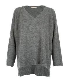 Straight Oversize Sweat Grey - Jenterommet Men Sweater, Grey, Sweaters, Black, Fashion, Gray, Moda, Black People, Fashion Styles