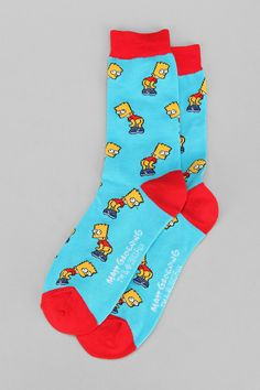 Bart Mooning Sock