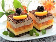 serowo-brzoskwioniowa pychotka Sweet Recipes, Cake Recipes, Dessert Recipes, Mini Cakes, Cupcake Cakes, Cupcakes, Eclairs, Different Cakes, Mousse Cake