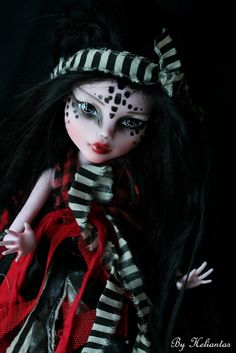 monster high - repaint / custom