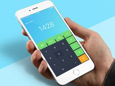 Calculator - Day70 My UI/UX Free Sketch App Challenge by Serhiy Semenov