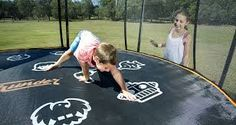 Backyard Trampoline, Trampolines, Basketball Hoop, Tent Camping, Family Activities, Things That Bounce, Imagination, Game, Printed