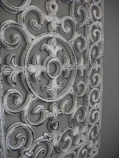 Salvage Dior: Rubber Door Mat Wall Art
