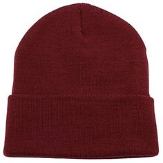 67a73994c1fa6 Amazon.com  ZMvise Unisex Slouch and Comfort Plain Skull Cap Men Women  Daily Knit Beanie Hat (Kelly Green)  Clothing