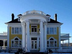 Colonial Revival in Picton Edwardian Era, Victorian, Colonial Revival Architecture, British American, Second Empire, Romanesque, Queen Anne, Old And New, Craftsman