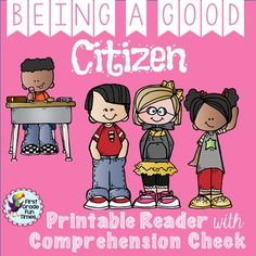 Perfect back to school ideas for citizenship; differentiated printable readers with comprehension activities. ☆☆☆☆☆☆☆☆☆☆☆☆☆☆☆☆☆☆☆☆☆☆☆☆☆☆☆☆☆This is the FIRST book in a BUNDLE (now complete) of printable readers for guided reading. Kindergarten Social Studies, Elementary Counseling, Teaching Social Studies, School Counselor, Elementary Teacher, 2nd Grade Books, 2nd Grade Math, First Grade, Second Grade