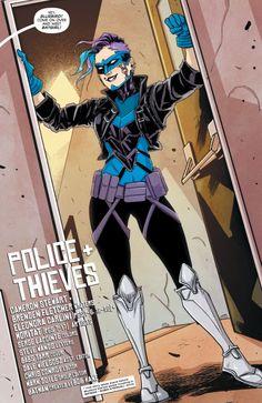 "Bluebird in Batgirl #47 ""Police+Thieves"" (2016) - Eleonora Carlini, Moritat & Serge Lapointe"