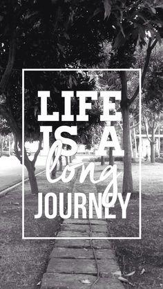 La vida es como un camino largo por recorrer, tenemos que aprovecharla y disfrutarla 😄  https://www.facebook.com/Frasemotivador-1757257284538522/