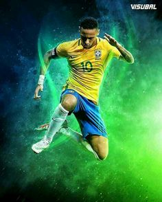 Neymar Jr of Brazil wallpaper.