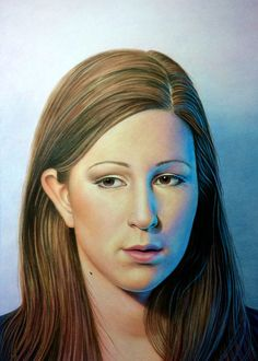 "Portrait of Shelby, colored pencil, 18"" x 13"" © Mary Jones Easley"