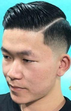 Haircut Great Haircuts, Men's Haircuts, Haircuts For Men, Slicked Back Hair, Asian Men, Hair Cuts, Hair Beauty, Hairstyle, Man Haircuts