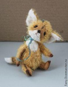 Мишки Тедди ручной работы. Ярмарка Мастеров - ручная работа. Купить Тедди-лис Лео. Handmade. Тедди, мохер Германия