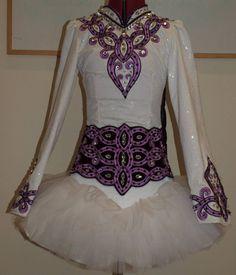 Irish Dance Solo Dress by Doire Designs