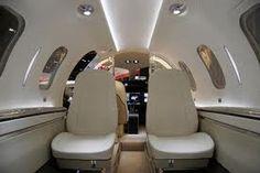 Honda Jet interior.