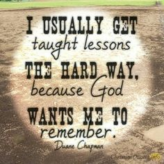 Taught Lessons