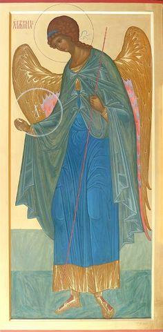 Фотография Religious Icons, Religious Art, Monastery Icons, Seraph Angel, Archangel Gabriel, I Believe In Angels, Blessed Mother Mary, Byzantine Icons, Saint Michel
