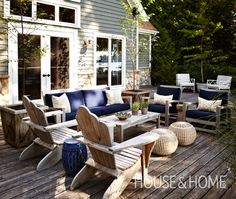 Lakeside Cottage Deck