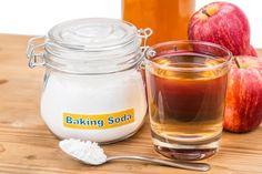 Trucos con bicarbonato de soodio con vinagre de manzana