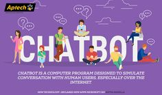#Chatbot is a new #technology in the #IT Industry. #AptechMalviyaNagar
