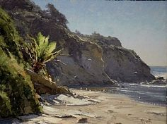 """Southern California"" (SOLD) by Matt Smith Oil ~ 11 x 14"