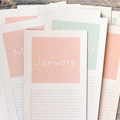 Never miss another important date! Here's a free printable for a perpetual birthday calendar!