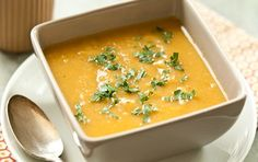 Winter Squash and Apple Soup (v)(gf)(sf)