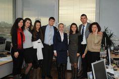 Трима мениджъри за един ден бяха на посещение в УниКредит Булбанк в рамките на инициативата Мениджър за един ден, която всяка година се организира от Junior Achievement Bulgaria // Three managers for a day visited UniCredit Bulbank within the Initiative Manager for a Day, which each year is organized by Junior Achievement Bulgaria.