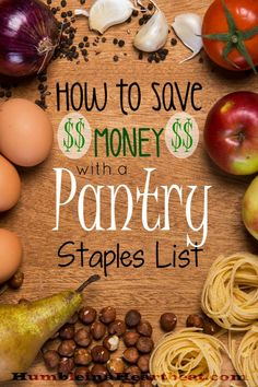 By using a pantry staples list you can save an estimated 125 on your grocery budget Learn how to start your own pantry staples list and start saving your money now Planning Budget, Menu Planning, Financial Planning, Frugal Living Tips, Frugal Tips, Frugal Meals, Budget Meals, Budget Binder, Budget Recipes