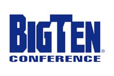 "Penn State became the member of The Big Ten conference, hence the embedded in this logo. I was soooo proud that my team changed the logo for the ""Big Ten Conference! Michael Bierut, Conference Logo, Negative Space Logos, Hidden Images, Famous Logos, Northwestern University, Thing 1, Cool Logo, Unique Logo"