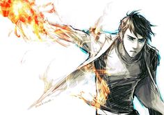 Tadashi - Looks kinda like Percy Jackson<<<OMG THIS COULD NOT BE MORE PERFECT