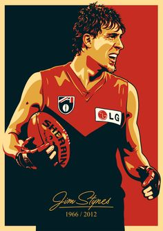 Jim Stynes by UCArts.deviantart.com on @deviantART