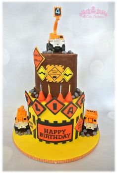 Construction Cake - Cake by Sumaiya Omar - The Cake Duchess SA - CakesDecor