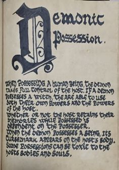 Demonic Possession Halloween Spell Book, Halloween Spells, Witch Spell Book, Witchcraft Spell Books, Wiccan Witch, Wiccan Spells, Magic Spells, Dyi Baskets, Truth Spell