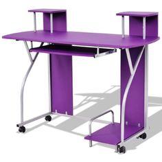 8 best purple desk accessories images purple desk purple office rh pinterest com