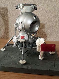 Fantastic Plastic 1:48 Soviet LK Lander - collectSPACE: Messages