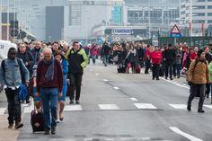 El aeropuerto de Bruselas ha sido evacuado