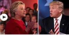 The Guardian: Hillary Clinton stays calm while Trump loses cool during first presidential debate