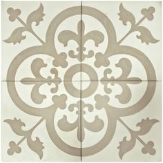 Bring a magical design to your home by choosing this Merola Tile Cemento Empress Beach Cement Handmade Floor and Wall Tile. Bathroom Flooring, Kitchen Flooring, Patchwork Tiles, Stenciled Floor, Concrete Tiles, Vintage Tile, Thing 1, Handmade Tiles, Tile Patterns