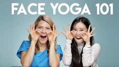 Face Yoga 101 with Celebrity Facial Yoga Trainer Koko Hayashi - Care - Skin care , beauty ideas and skin care tips Facial Yoga, Face Facial, Facial Scrubs, Facial Masks, Face Yoga Method, Face Yoga Exercises, Yoga Trainer, Beauty Hacks Skincare, Celebrity Faces