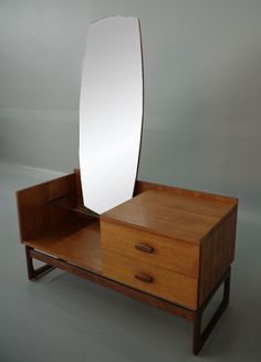 Wanted this 40 years ago and it still stops my heart!! Vintage Danish Modern Vanity