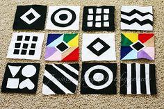 Baby Felt Squares #Baby #Toy