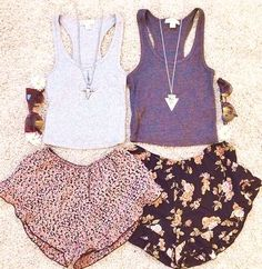 35 Chic Cheerful Floral Shorts Outfits For A Hot Summer #floral #shorts #women #cute #outfits #casual #style