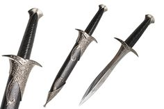 Elven Sting Dagger Miniature Letter Opener Fantasy Sword with Sheath